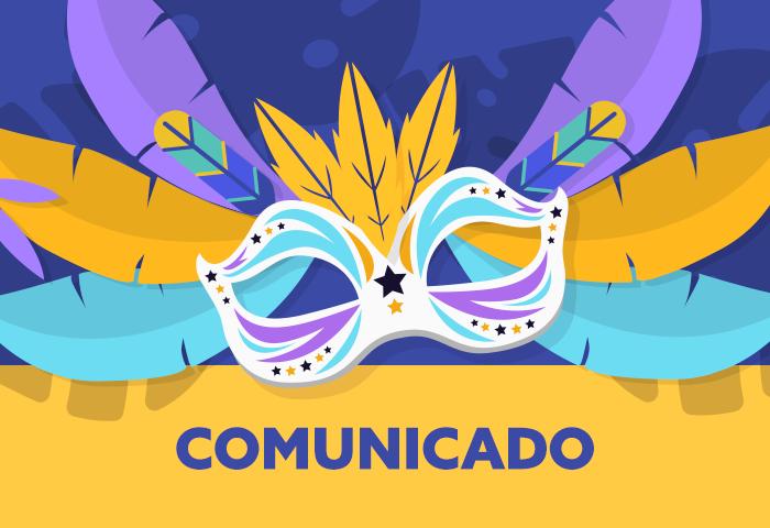 comunicado carnaval 2019